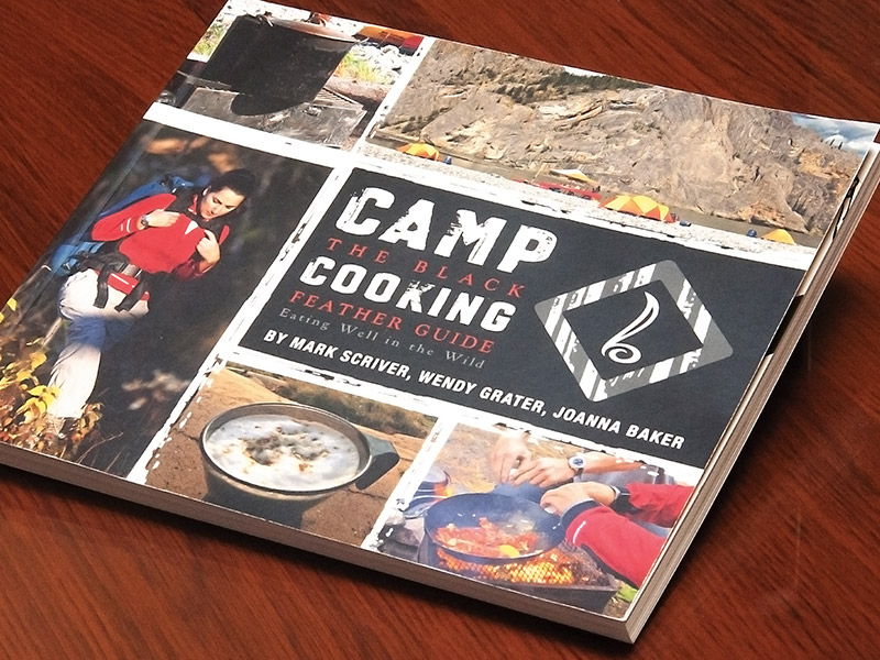 Camp Cookbook - Print Design and Layout