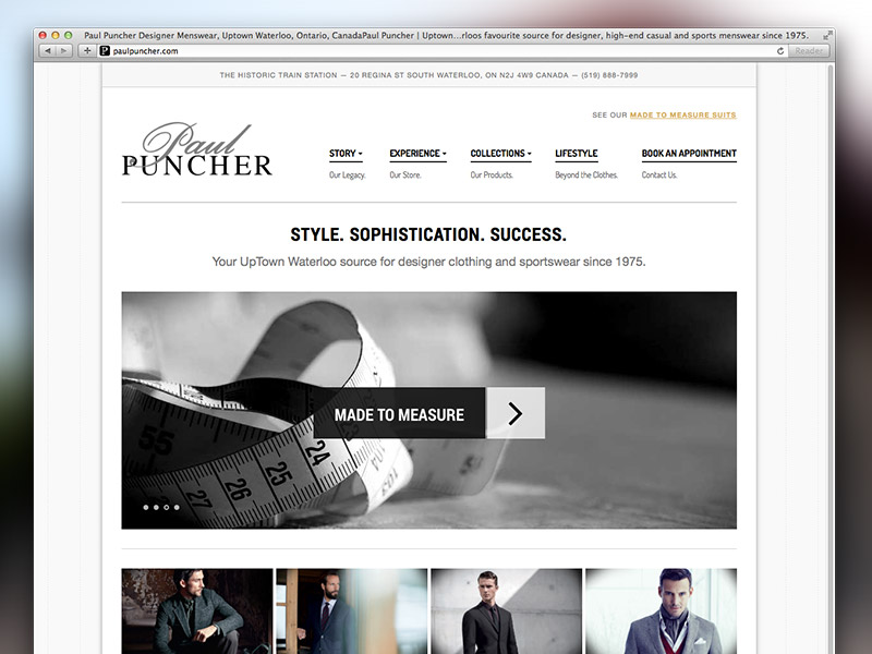 Paul Puncher - Strategic Website Development